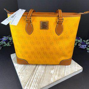 Dooney & Bourke Richmond Shopper Yellow  Purse